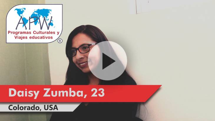 Daisy Zumba viaja a EEUU