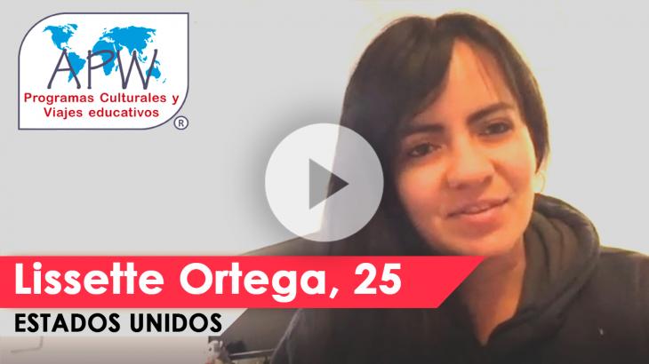 Lissette Ortega viaja a Estados Unidos